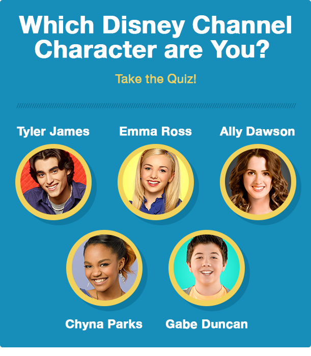 Disney Character Quiz Premiere