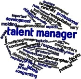 Premiere Event Talent Manager Word Cluster